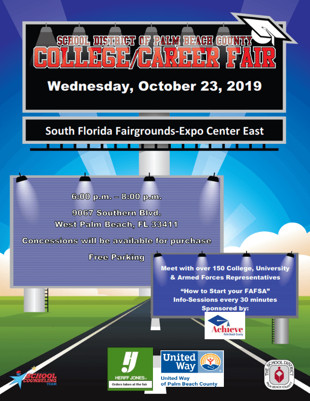 School District Of Palm Beach County College-Career Fair